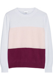 Madeleine Thompson Cosmo color-block cashmere sweater