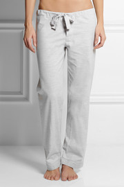 Bodas Montana cotton-fleece pajama pants