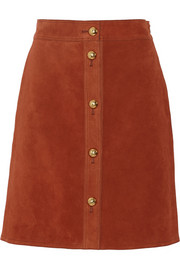 Gucci Suede skirt