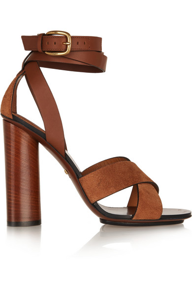 e2665af81f7 Gucci. Leather and suede sandals