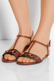 Gucci Horsebit-detailed leather sandals