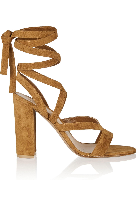 Gianvito Rossi Suede sandals
