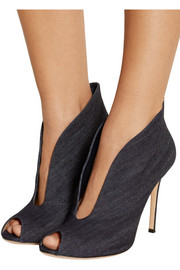 Gianvito Rossi Denim ankle boots