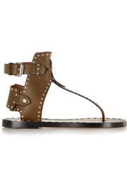 Isabel Marant Johanna studded leather sandals