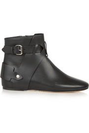 Isabel Marant Brooks leather ankle boots