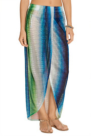 Missoni Mare crochet-knit sarong