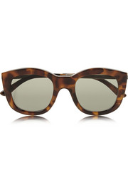 Runaways Luxe cat eye acetate sunglasses