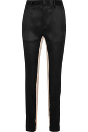 Haider Ackermann Satin-twill straight-leg pants
