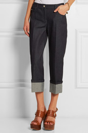 Michael Kors Cropped mid-rise straight-leg jeans