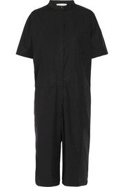 Ryo oversized cotton-blend poplin jumpsuit
