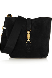 Jackie Soft suede shoulder bag