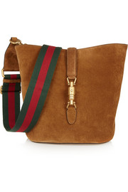 Gucci Jackie Soft Hobo suede shoulder bag