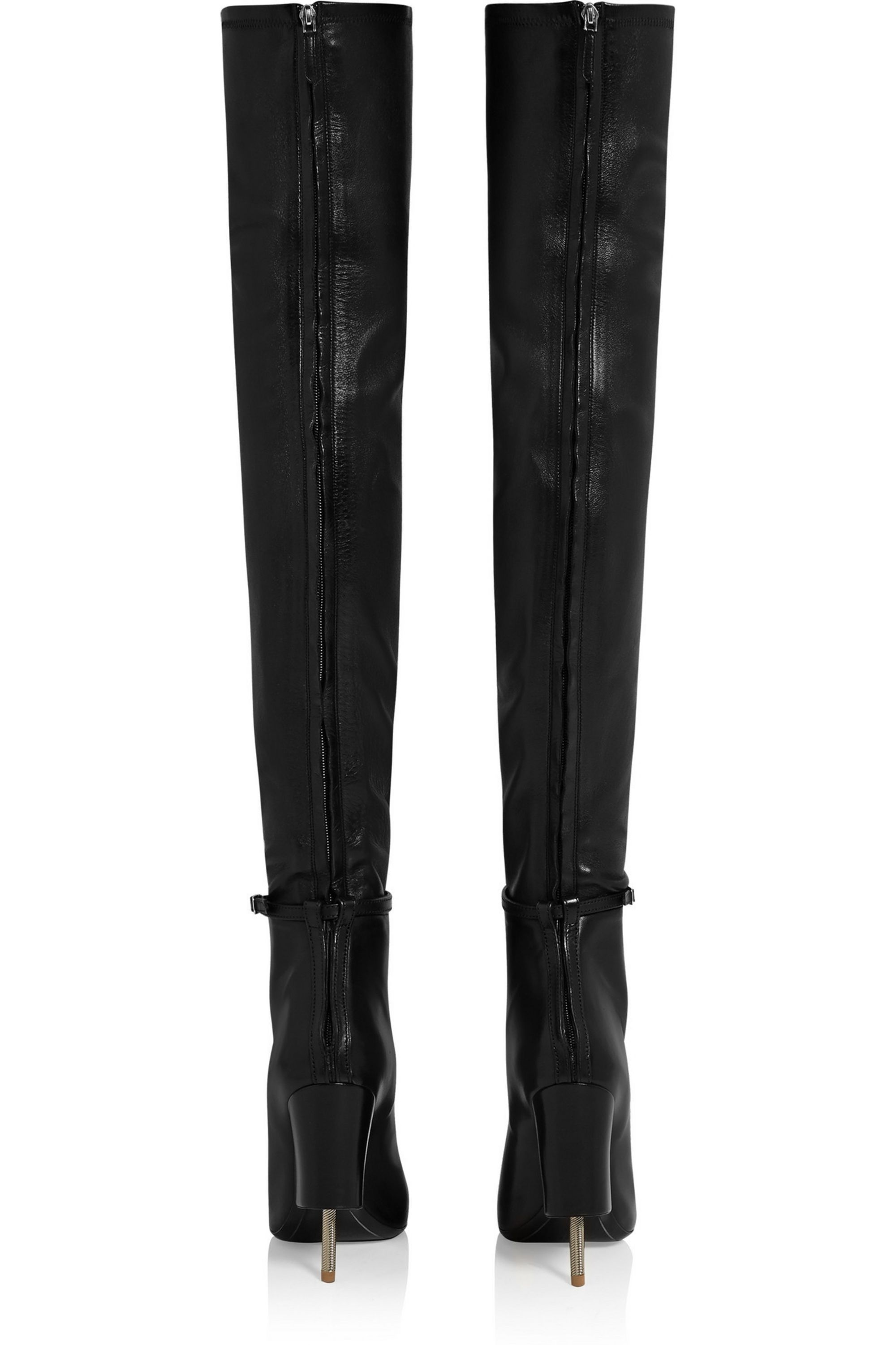 Givenchy Narlia thigh boots in black leather