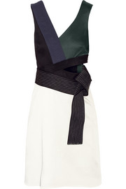 3.1 Phillip Lim Judo cutout crepe mini dress