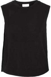 Asymmetric knitted top