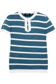 Villefranche striped cotton top