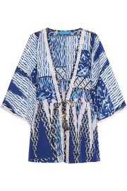 Matthew Williamson Escape printed silk kimono