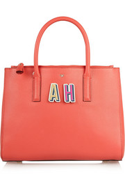 Anya Hindmarch Alphabet textured-leather stickers