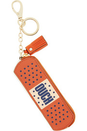Anya Hindmarch Ouch textured-leather bag charm