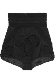 Dolce & Gabbana Embroidered jacquard shorts