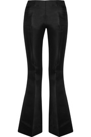 Acne Studios Mello cotton and silk-blend flared pants