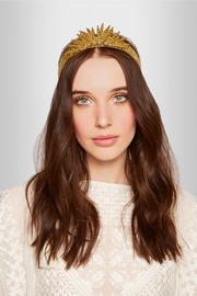 Margarite gold-plated headband