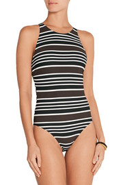 Tory Burch Striped swimsuit