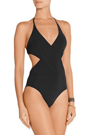 Tory Burch Wrap-front swimsuit