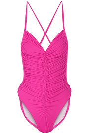 Butterfly Mio ruched swimsuit