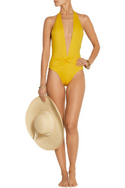 Twister plunge swimsuit