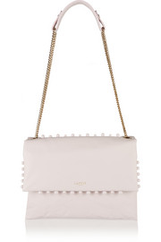 Sugar medium embellished leather shoulder bag