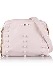 Lanvin Sugar mini embellished leather shoulder bag