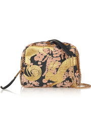 Sugar mini jacquard shoulder bag