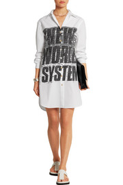 Marc by Marc Jacobs Printed stretch-cotton poplin shirt dress