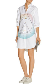 Marc by Marc Jacobs Printed cotton-poplin shirt dress