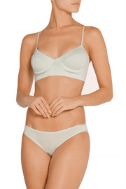 BASE Range Stretch-bamboo underwired bra