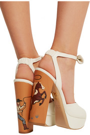 Round Up leather sandals