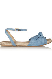 Marina denim sandals
