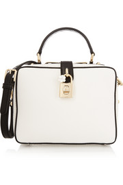 Dolce & Gabbana Mini textured-leather shoulder bag