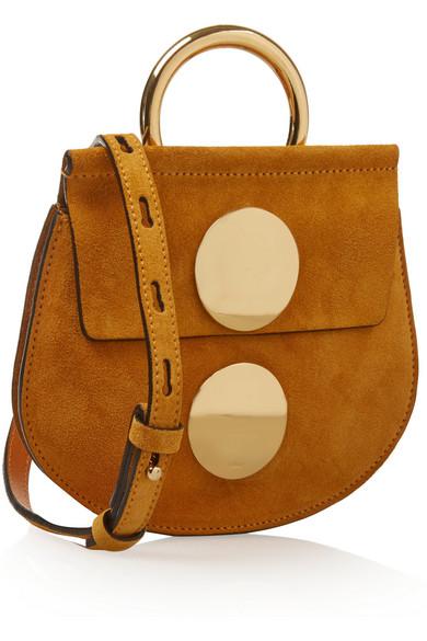 Chlo¨¦ | Faye mini suede shoulder bag | NET-A-PORTER.COM