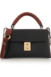 Fedora small leather shoulder bag