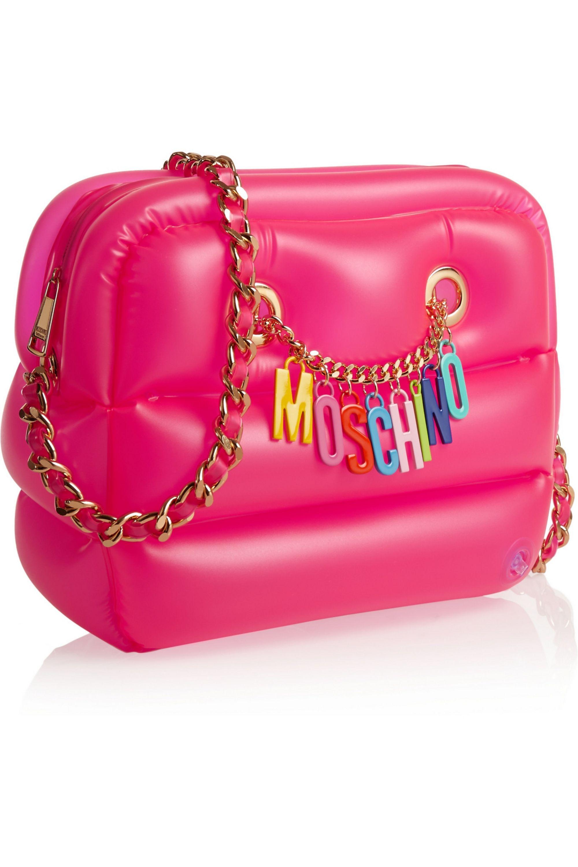 Moschino Inflatable PVC shoulder bag