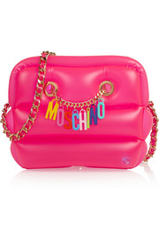 Moschino Inflatable PVC shoulder bag