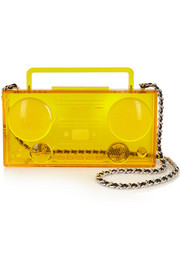Boom Box Perspex shoulder bag