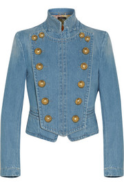 Gucci Double-breasted denim jacket