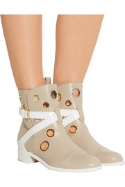 + Jonathan Saunders Scubabootie 25 embellished leather ankle boots