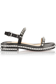 Christian Louboutin Athossita 30 studded leather sandals