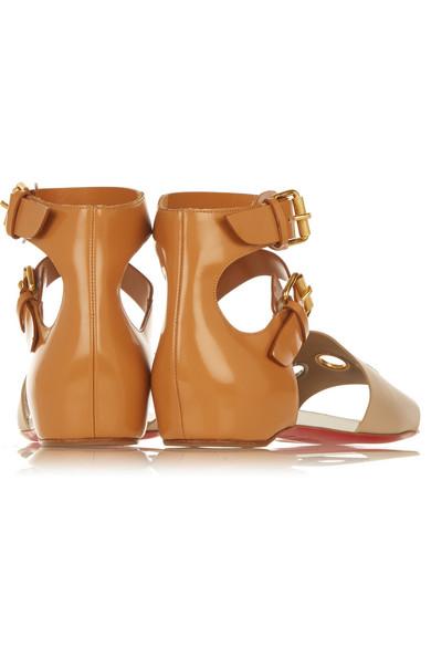 b49954b3d3f + Jonathan Saunders embellished leather sandals