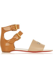 + Jonathan Saunders embellished leather sandals