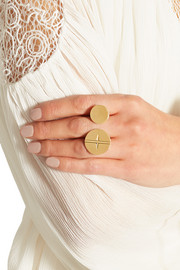 Frankie gold-tone ring